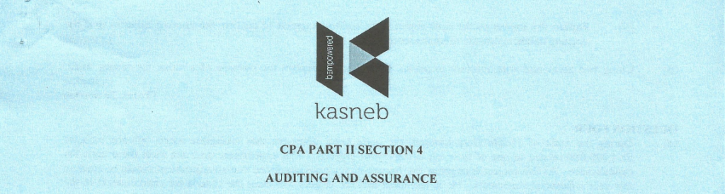 Auditing and Assurance notes and past papers