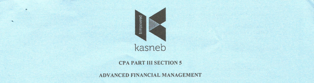 Advanced Financial Management notes and past papers