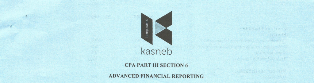 Advanced Financial Reporting notes and past papers