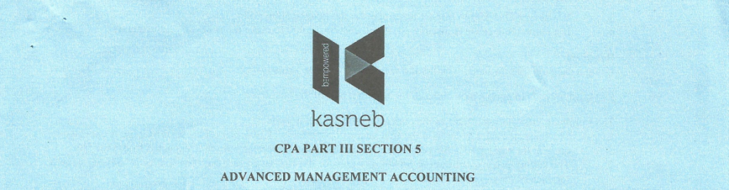 Advanced Managemnt Accounting notes and past papers