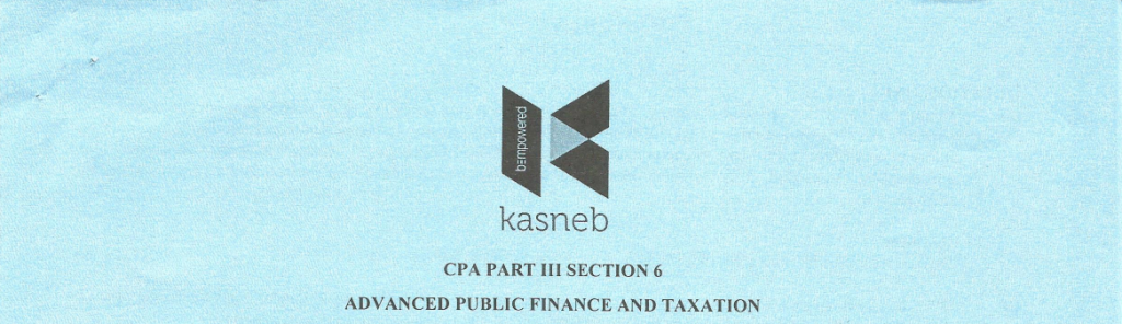 aDVANCED pUBLIC fINANCE AND tAXATION notes and past papers