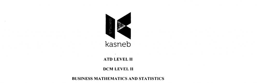 Business mathematics and staticstics notes and past papers