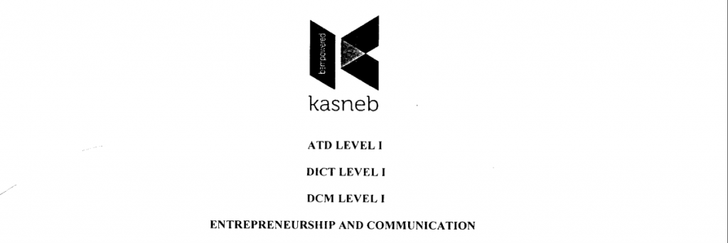 Entrepreneurship and communication notes and past papers