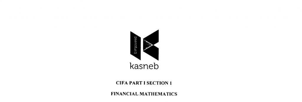 Financial mathematics notes and past papers