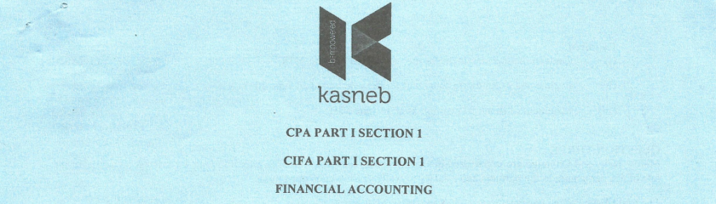 Financial Accounting notes and past papers
