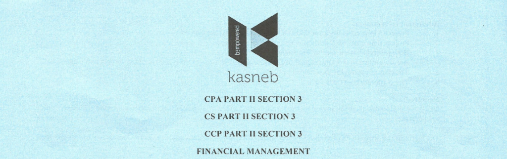 Financial managemet notes and past papers