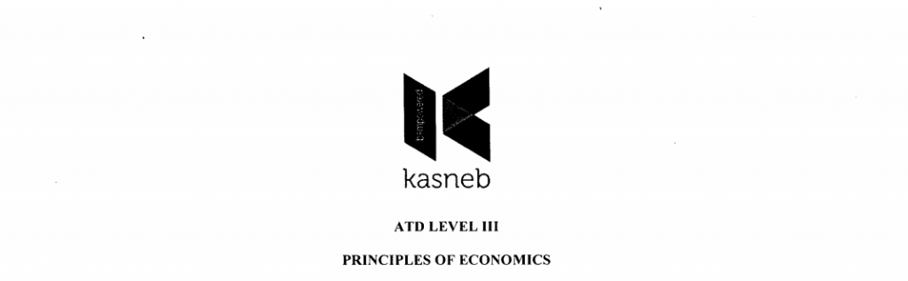 KASNEB Principles of Economics Past Papers and answers