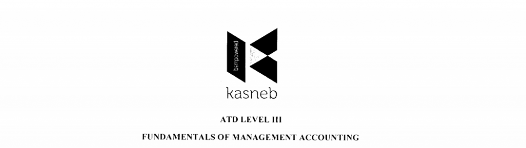 Fundamentals of management accounting notes and past papers
