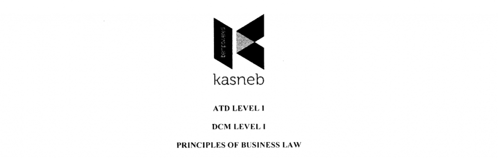 Principles of Business Law notes and past papers