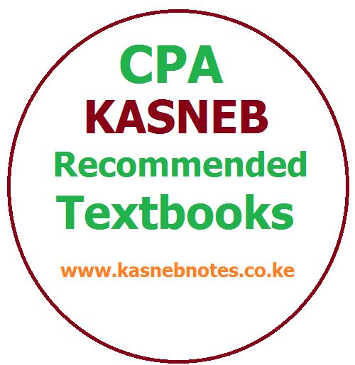 CPA KASNEB Recommended textbooks