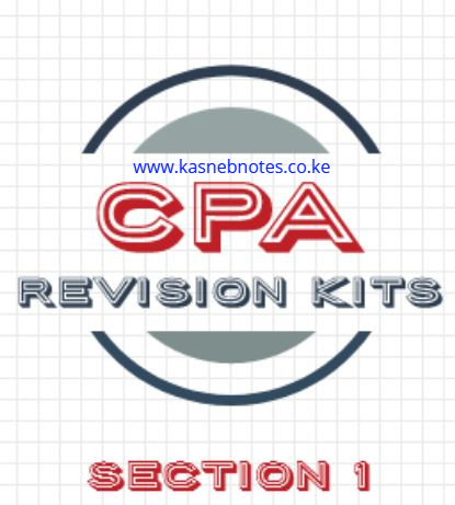 CPA Section 1 revision kits kasneb questions and answers