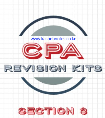 CPA Section 3 revision kits kasneb questions and answers
